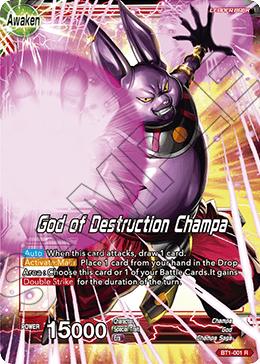 God of Destruction Champa