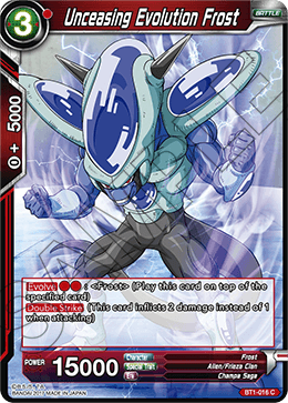 Unceasing Evolution Frost