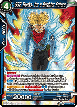 SS2 Trunks, for a Brighter Future
