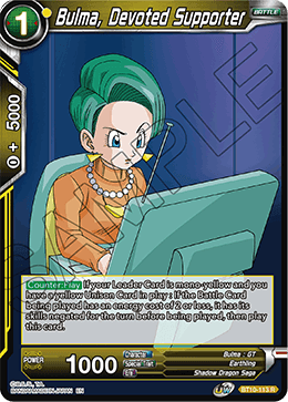Bulma, Devoted Supporter