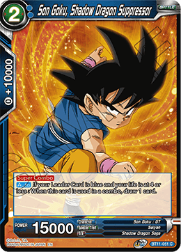 Son Goku, Shadow Dragon Suppressor