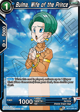 Bulma, Wife of the Prince