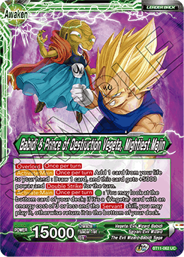 Babidi & Prince of Destruction Vegeta, Mightiest Majin
