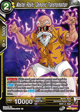Master Roshi, Demonic Transformation