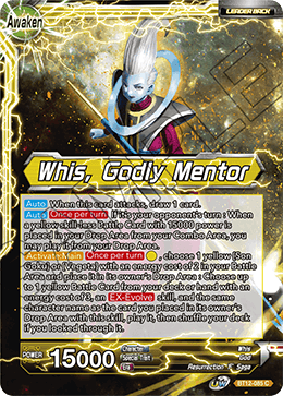 Whis, Godly Mentor