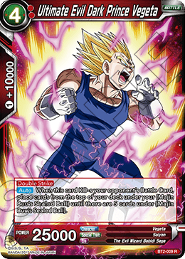 Ultimate Evil Dark Prince Vegeta