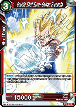 Double Shot Super Saiyan 2 Vegeta