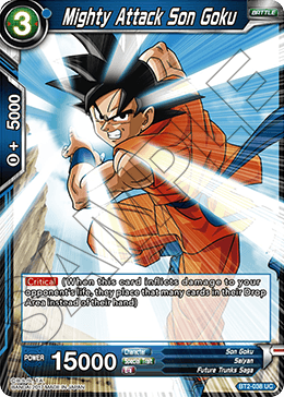 Mighty Attack Son Goku