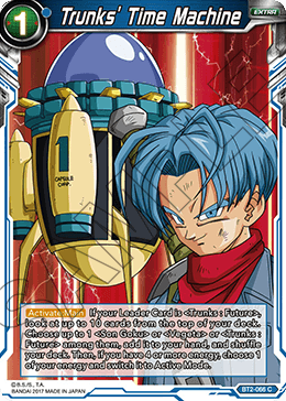 Trunks' Time Machine
