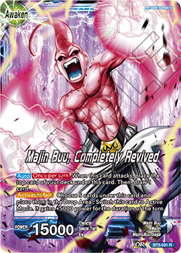 Majin Buu, Completely Revived
