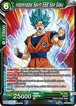 Indomitable Spirit SSB Son Goku