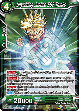 Unyielding Justice SS2 Trunks