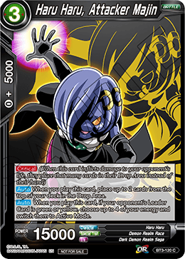 Haru Haru, Attacker Majin