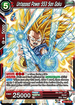 Untapped Power SS3 Son Goku