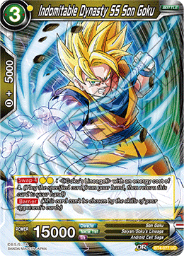 Indomitable Dynasty SS Son Goku