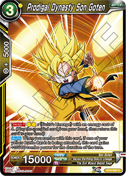 Prodigal Dynasty Son Goten