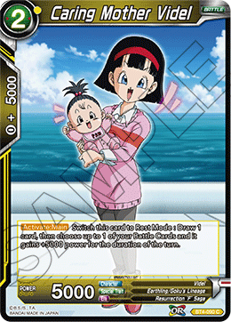 Caring Mother Videl