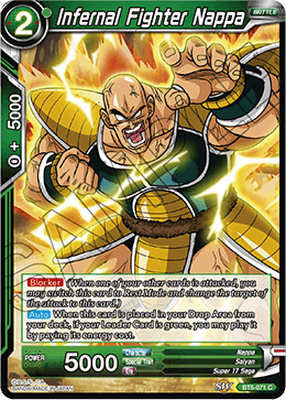 Infernal Fighter Nappa