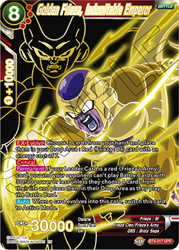 Golden Frieza, Indomitable Emperor