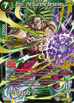 Broly, the Supreme Berserker