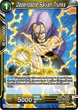 Dependable Saiyan Trunks