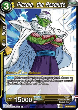 Piccolo, the Resolute