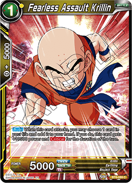 Fearless Assault Krillin