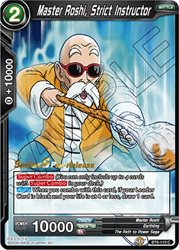 Master Roshi, Strict Instructor