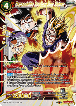 Dependable Brother Son Gohan