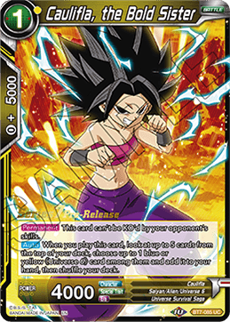 Caulifla, the Bold Sister