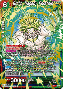 Broly, Tragedy Foretold