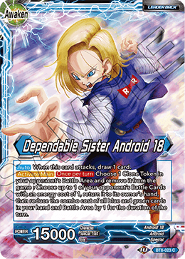 Dependable Sister Android 18