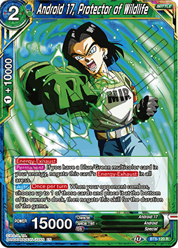 Android 17, Protector of Wildlife