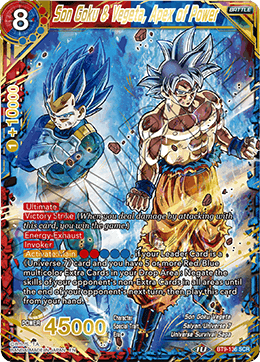 Son Goku & Vegeta, Apex of Power