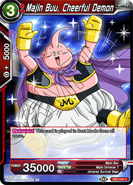 Majin Buu, Cheerful Demon