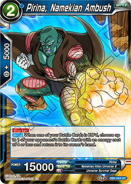 Pirina, Namekian Ambush