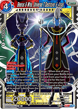 Beerus & Whis, Universe 7 Destroyer & Angel