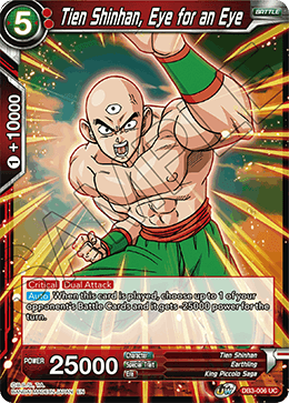Tien Shinhan, Eye for an Eye