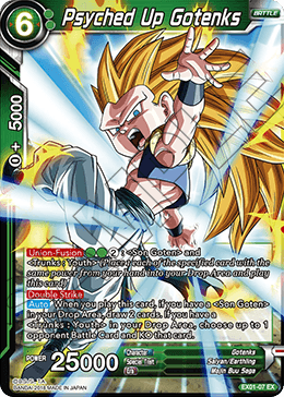 Psyched Up Gotenks