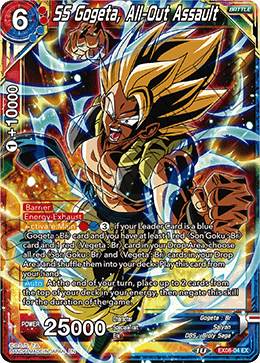 SS Gogeta, All-Out Assault