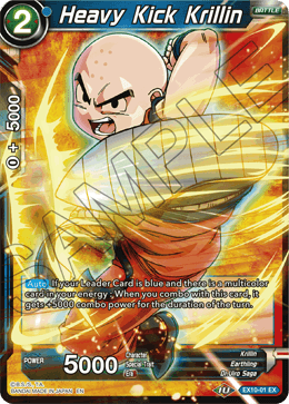 Heavy Kick Krillin
