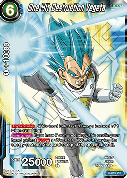 One-Hit Destruction Vegeta