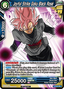 Joyful Strike Goku Black Rose