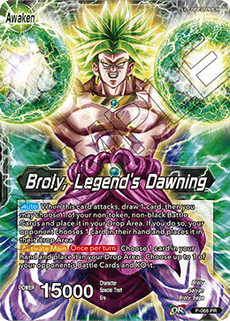 Broly, Legend's Dawning