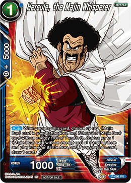 Hercule, the Majin Whisperer