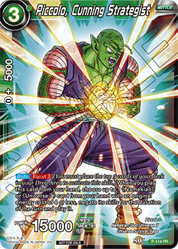 Piccolo, Cunning Strategist
