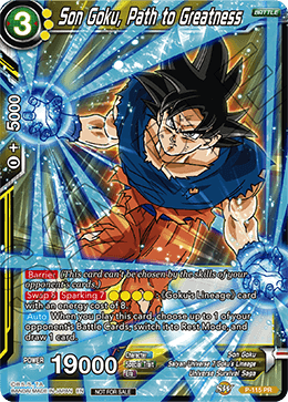 Son Goku, Path to Greatness