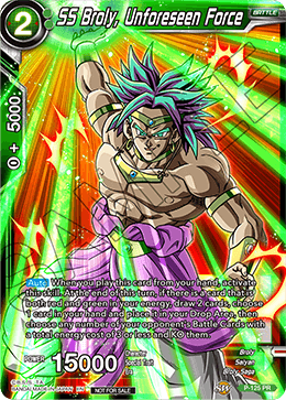 SS Broly, Unforeseen Force
