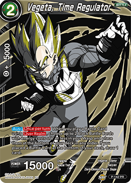 Vegeta, Time Regulator