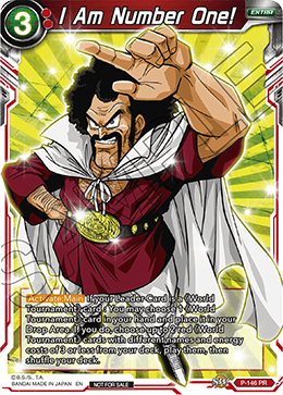 DRAGON BALL SUPER CARD GAME Promotion Cards - CARD LIST
